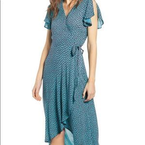 Band of Gypsies Mantinique High Low Wrap Dress XS